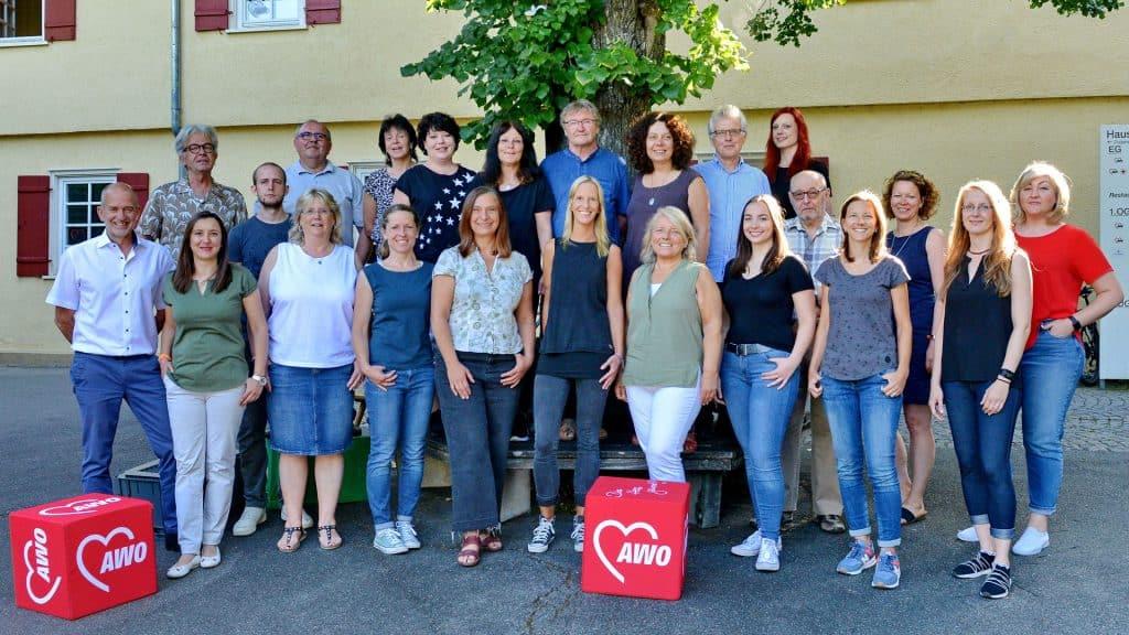 Das Team der AWO Reutlingen